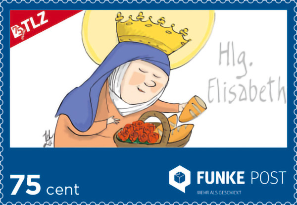 FUNKE Post Jubiläums-Briefmarke Standardbrief