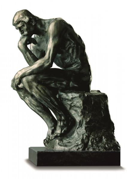 """397418 Auguste Rodin: Skulptur """"Der Denker"""""""
